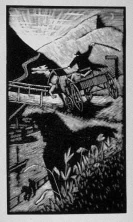 Ninth image (of nine) for Escape , chapter 16 in the book Destiny, A Novel in Pictures by Otto Nückel (New York: Farrar and Rinehart,Inc. [1930 ])
