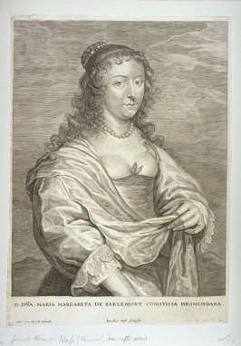 Marie-Marguerete de Berlaymont, from The Iconography