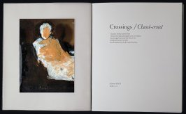 Title Page from Crossings /Chassé-croisé by Mary Julia Klimenko (Berkeley: Editions Koch, 2003), 1980/2003
