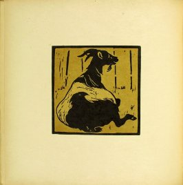 "Untitled, illustration accompanying the rhyme ""The Toilsome Goat,"" in the book The Square Book of Animals (London: William Heinemann, 1900)"