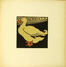 "Untitled, illustration accompanying the rhyme ""The Lucky Duck,"" in the book The Square Book of Animals (London: William Heinemann, 1900)"