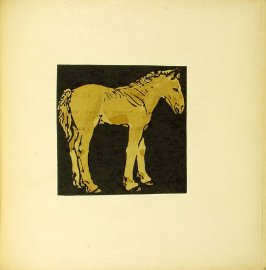 "Untitled, illustration accompanying the rhyme ""The Growing Colt,"" in the book The Square Book of Animals (London: William Heinemann, 1900)"