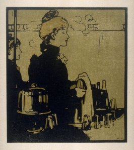 London Types: Barmaid