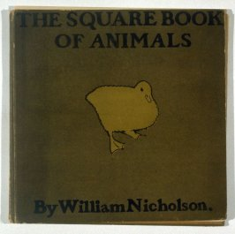 The Square Book of Animals by Arthur Waugh (cover only)
