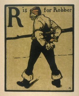 An Alphabet: R is for Robber