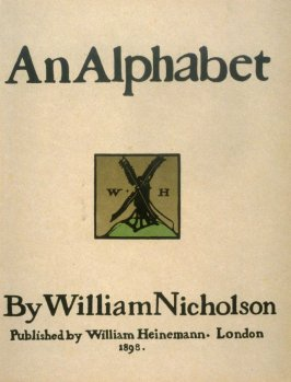 An Alphabet (William Heinemann: London, 1898)