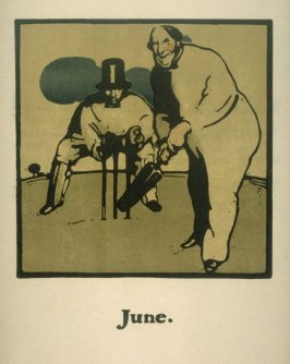 An Almanac of Twelve Sports - 12 plates; June
