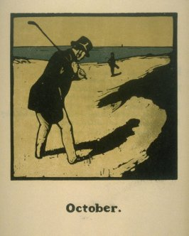 October, pl. 10 from An Almanac of Twelve Sports