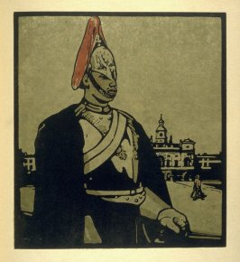 The Horse Guards, first plate in the book London Types (London: William Heinemann, 1898)