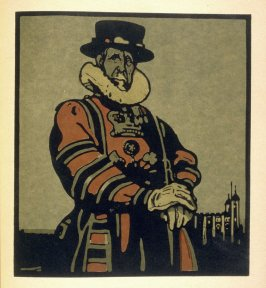 The Tower, third plate in the book London Types (London: William Heinemann, 1898)
