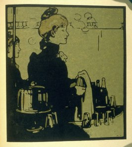 Any Bar, twelfth plate in the book London Types (London: William Heinemann, 1898)