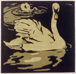 Swan, from the Square Book of Animals