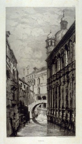 Venice (Canal back of St. Mark's), from L'Illustration Nouvelle (1876)