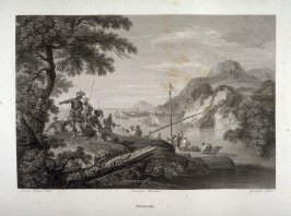 Paysage (Landscape)...forty sixth plate in the book... Le Musée royal (Paris: P. Didot, l'ainé, 1818), vol. 2