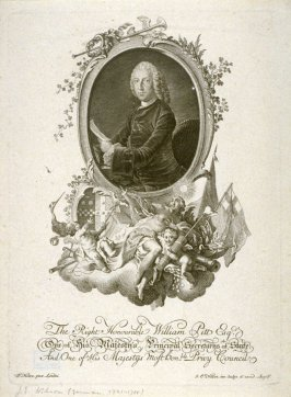 Portrait of the Right Honorable William Pitt