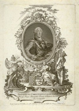 Portrait of Frederic Christian Leopold, King of Poland and Saxony, born 1722