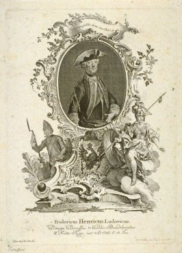 Portrait of Frederic Henry Ludwig of Prussia and Brandenburg, born 1726
