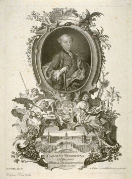 Portrait of Charles Frederic, Regent of Baden-Durlach, born 1728