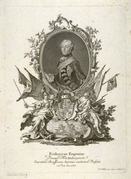 Portrait of Frederic Eugen, of Wurtemberg, born 1732