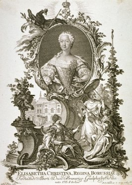 Portrait of Elisabeth Christina, Queen of Prussia