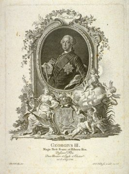 Portrait of George III, King of England etc., defender of the Faith, born 1738