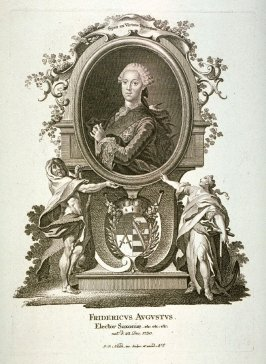 Portrait of Frederic August, Elector of Saxony, born 1750