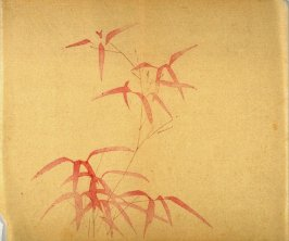 """Red Robed""- No.14 from the Volume on Bamboo - from: The Treatise on Calligraphy and Painting of the Ten Bamboo Studio"