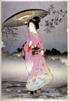 [Woman with an Umbrella]