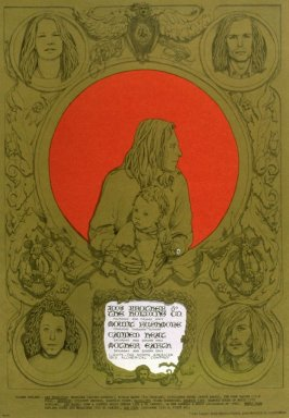 """Family Portrait,"" Big Brother & the Holding Company, Mount Rushmore, Canned Heat,  Mother Earth, July 20 - 23, Avalon Ballroom"