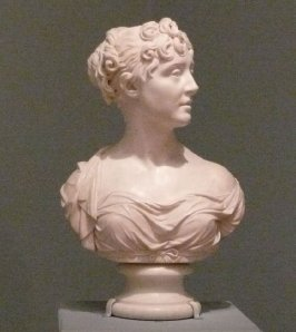 Portrait Bust of Lady Elizabeth Bingham