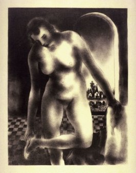 Female Nude, standing (untitled)
