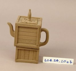 Stacked Crates Teapot
