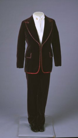 Man's suit; jacket and trousers