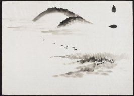 Untitled (Landscape Study with Mountains, Marshes and Birds)