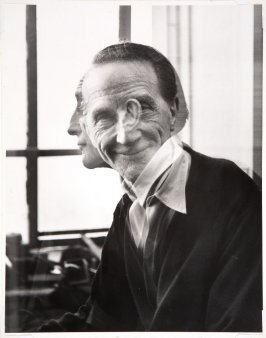 Double Photograph of Marcel Duchamp