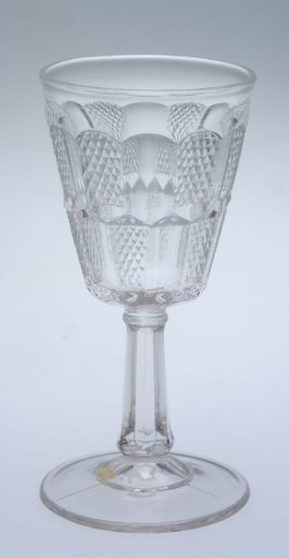 Wine glass Hand pattern or Pennsylvannia