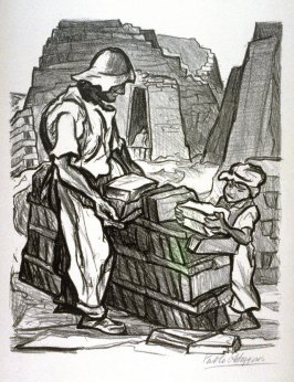 "Brick Makers from ""Mexican People"" portfolio"