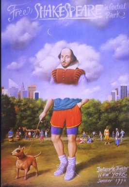 Free Shakespeare in Central Park