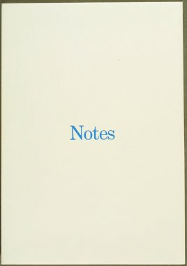Notes by Claes Oldenburg (Los Angeles: Gemini G.E.L., 1968)