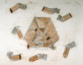 Study for the print: Study for Steel and Lead Ashtray