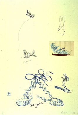 Untitled (Sneaker Lace), from the portfolio Notes