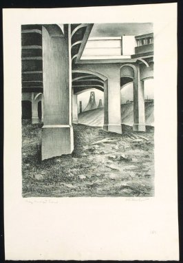 Arches of Approach to East, no. 13 from Building the Bay Bridge