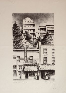 Pasquali's Tower, no. 2 from North Beach Series