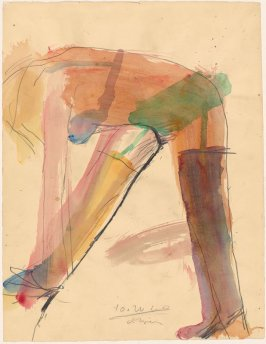 Woman with Stockings