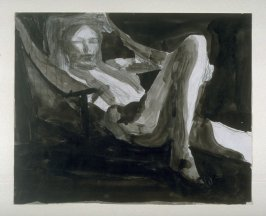 Reclining Woman with Arms Raised