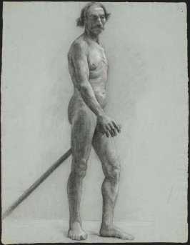Untitled ( Standing Nude Male Model)