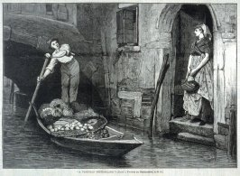 A Venetian Fruit-Seller p.625 Harper's Weekly 25 July 1874