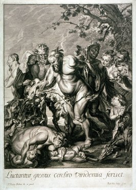 Silenus and his Entourage