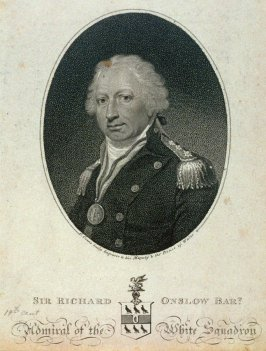 Sir Richard Onslow, Admiral of the White Squadron