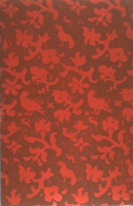 Untitled, illustration (pattern) for the book Fall From Grace (Berkeley: Okeanos Press, 1993)